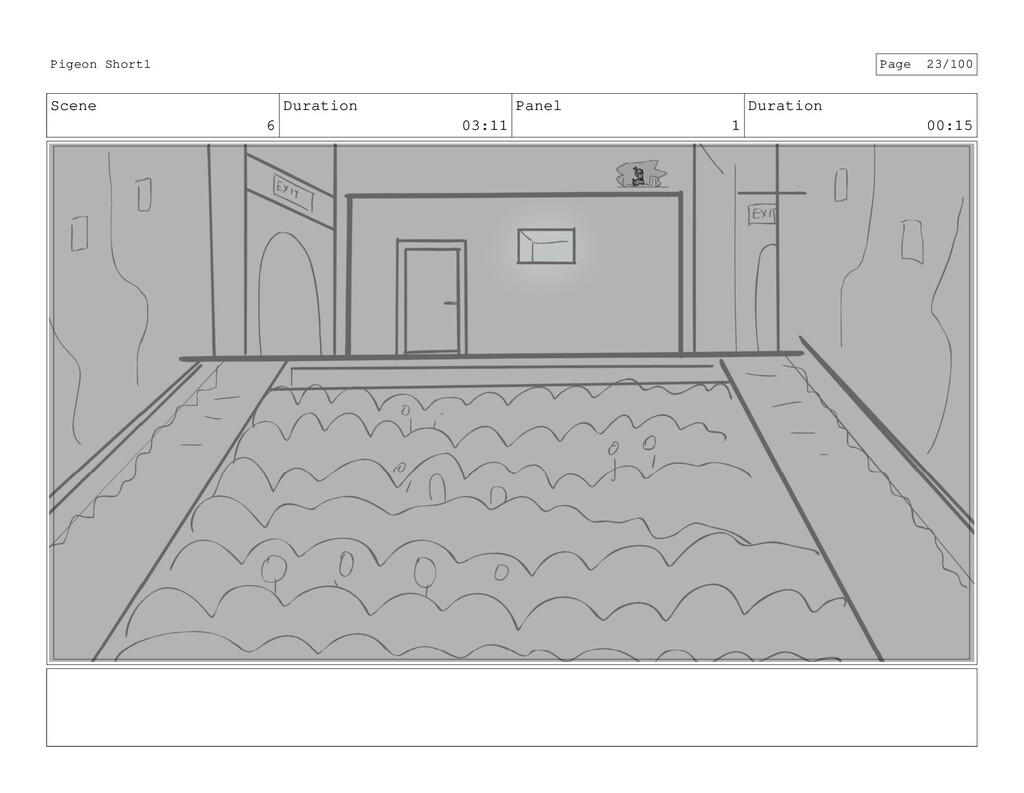Scene 6 Duration 03:11 Panel 1 Duration 00:15 P...