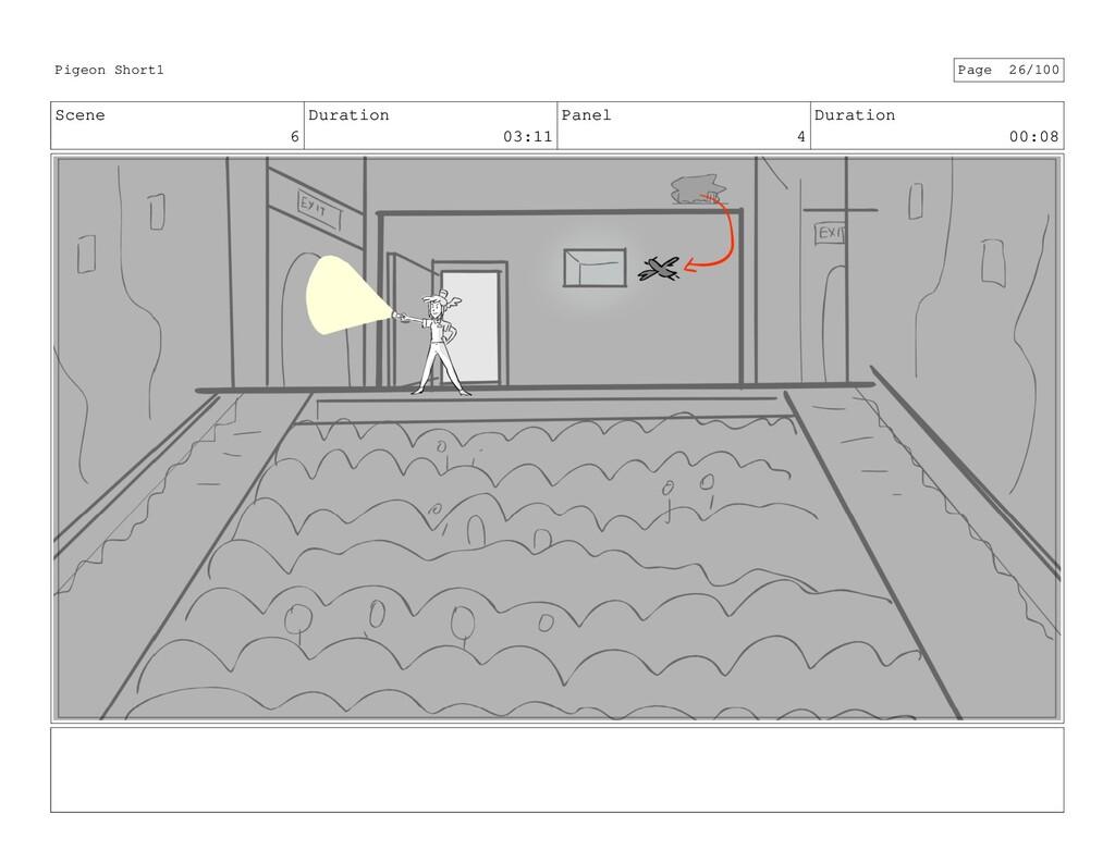 Scene 6 Duration 03:11 Panel 4 Duration 00:08 P...