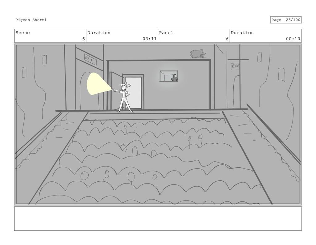 Scene 6 Duration 03:11 Panel 6 Duration 00:10 P...