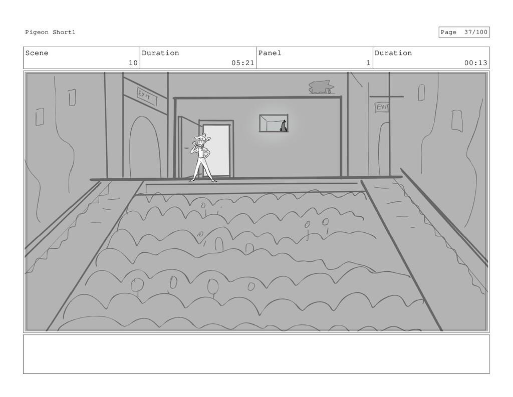 Scene 10 Duration 05:21 Panel 1 Duration 00:13 ...