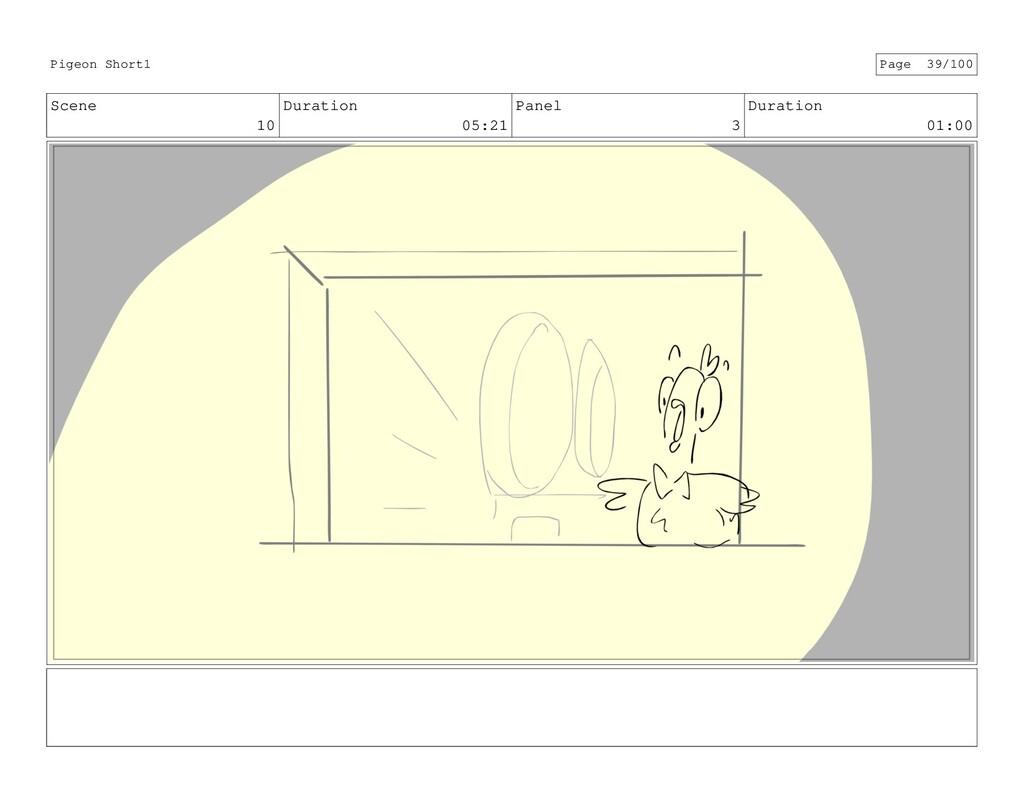 Scene 10 Duration 05:21 Panel 3 Duration 01:00 ...