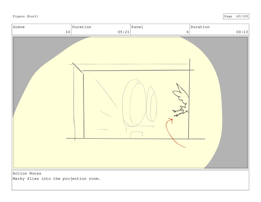 Scene 10 Duration 05:21 Panel 4 Duration 00:13 ...