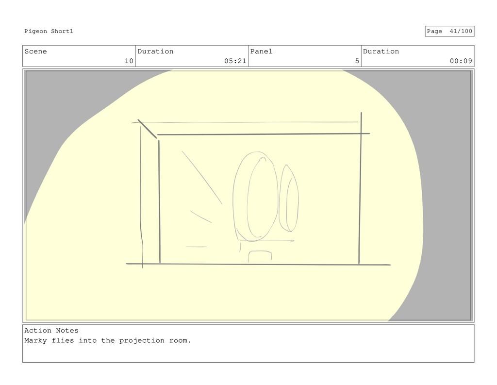 Scene 10 Duration 05:21 Panel 5 Duration 00:09 ...
