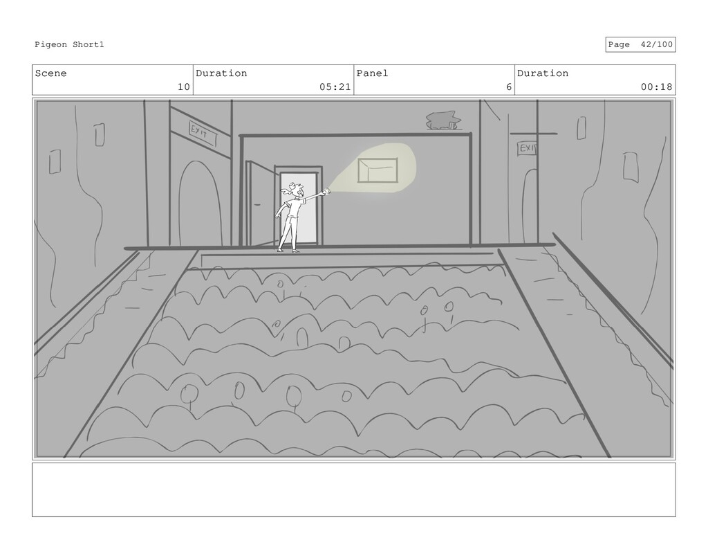 Scene 10 Duration 05:21 Panel 6 Duration 00:18 ...