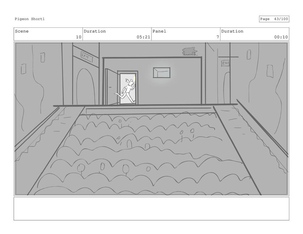 Scene 10 Duration 05:21 Panel 7 Duration 00:10 ...