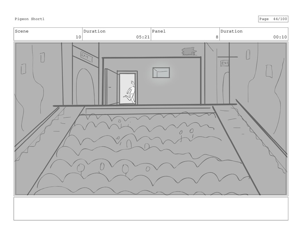 Scene 10 Duration 05:21 Panel 8 Duration 00:10 ...