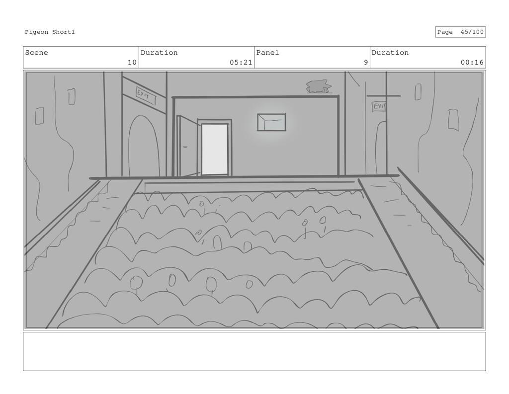 Scene 10 Duration 05:21 Panel 9 Duration 00:16 ...
