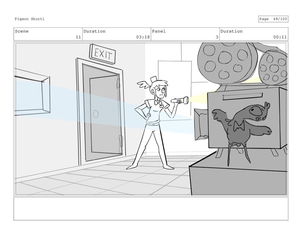 Scene 11 Duration 03:18 Panel 3 Duration 00:11 ...
