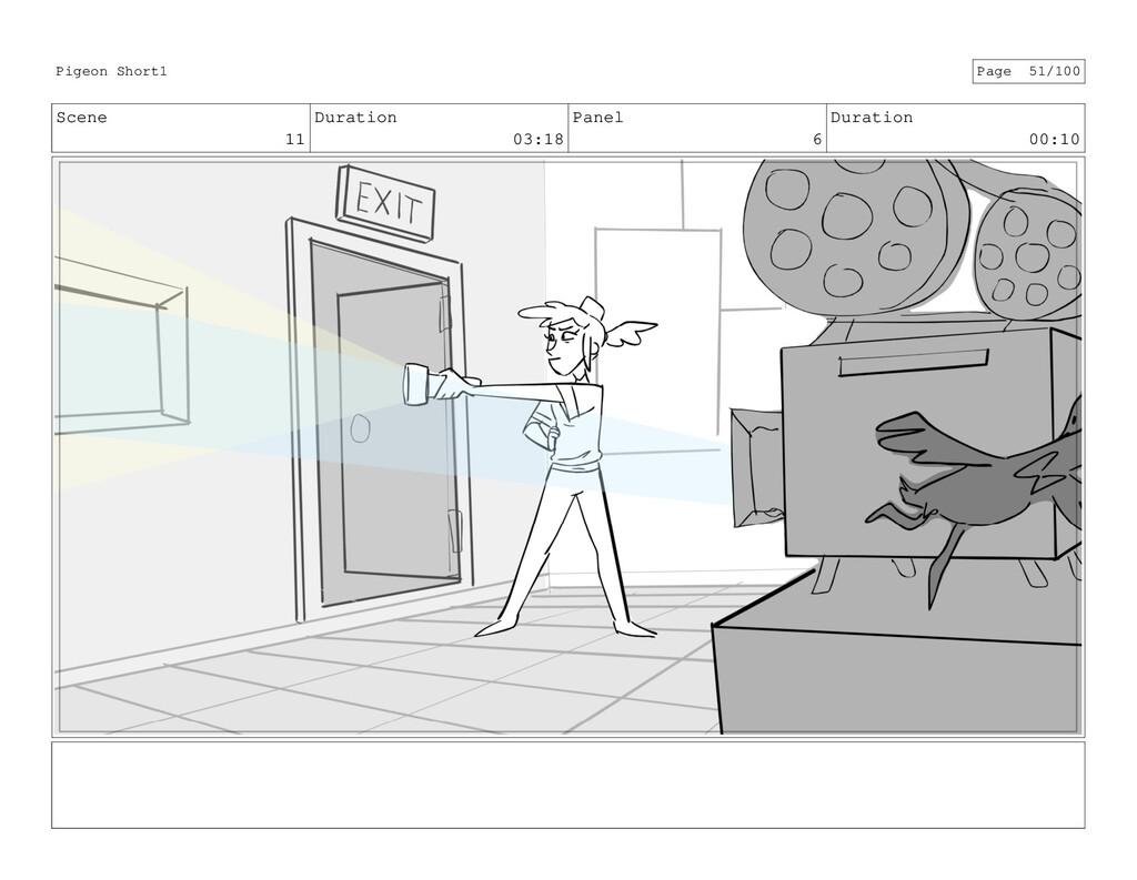 Scene 11 Duration 03:18 Panel 6 Duration 00:10 ...