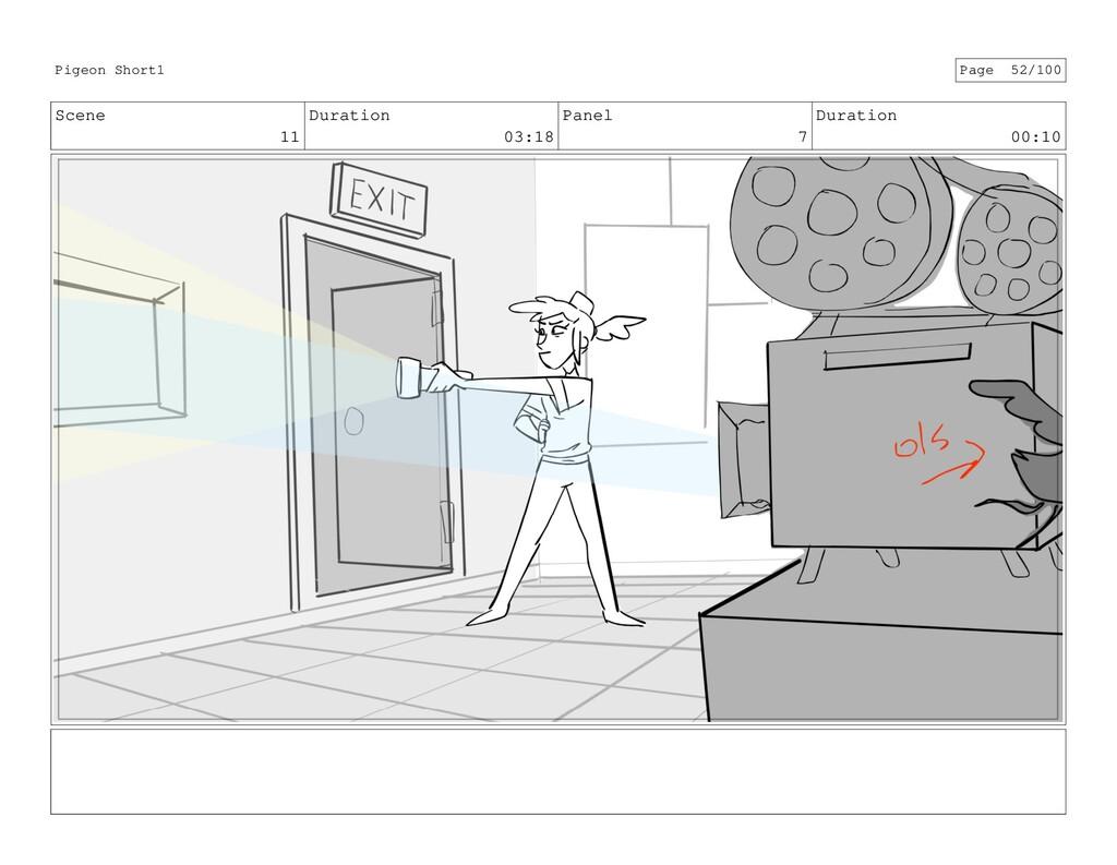 Scene 11 Duration 03:18 Panel 7 Duration 00:10 ...