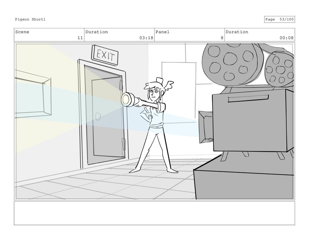 Scene 11 Duration 03:18 Panel 8 Duration 00:08 ...