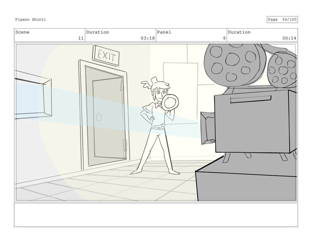 Scene 11 Duration 03:18 Panel 9 Duration 00:14 ...