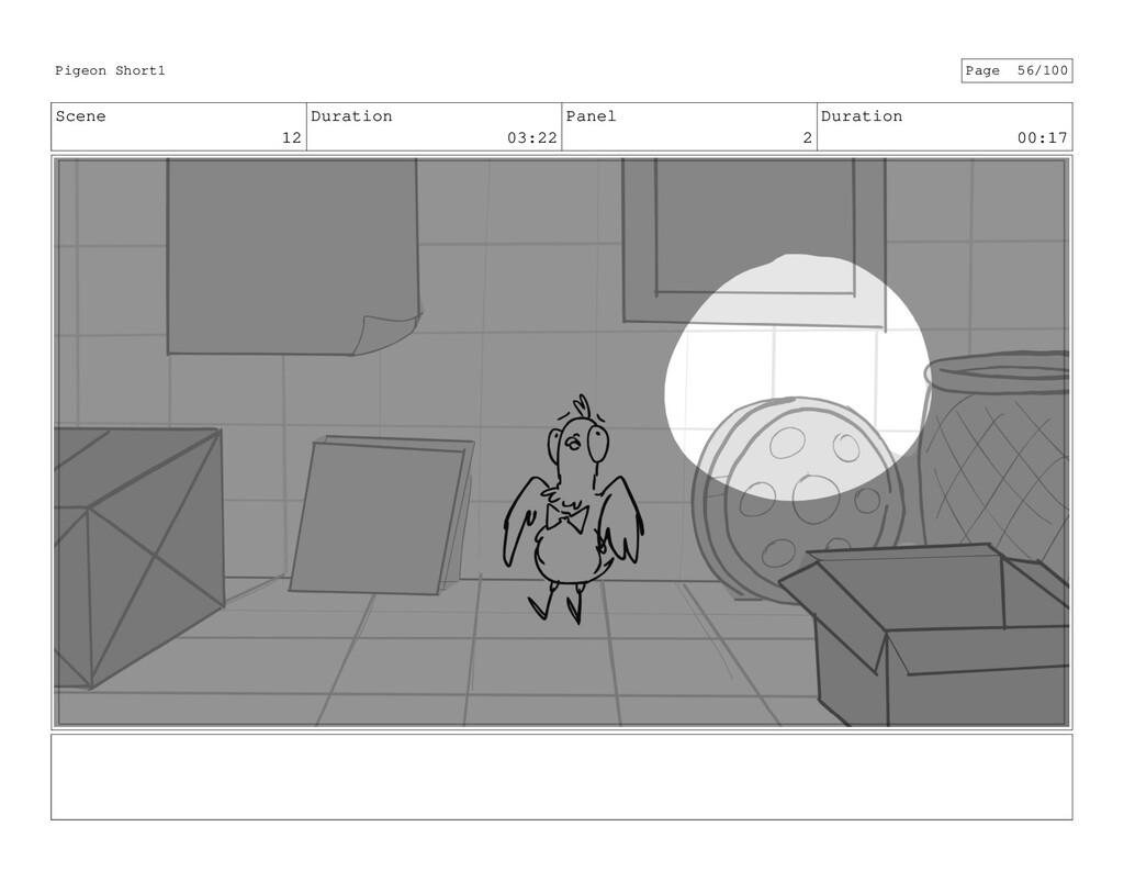 Scene 12 Duration 03:22 Panel 2 Duration 00:17 ...
