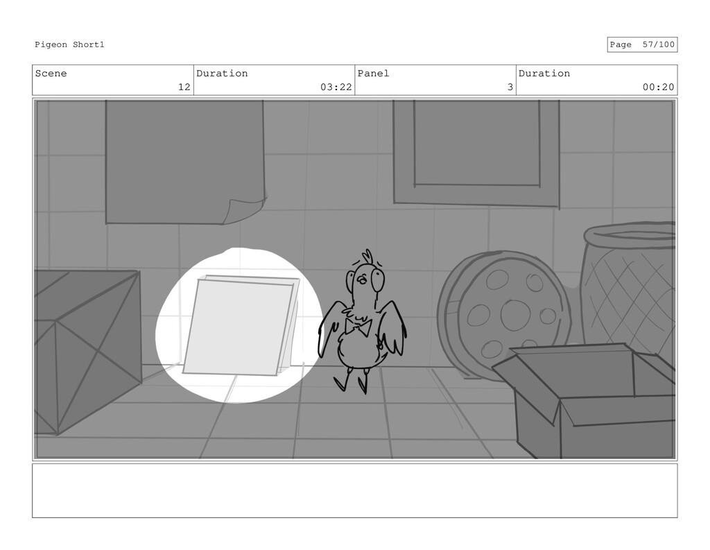Scene 12 Duration 03:22 Panel 3 Duration 00:20 ...