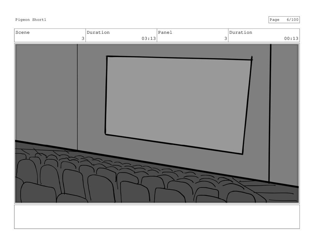 Scene 3 Duration 03:13 Panel 3 Duration 00:13 P...