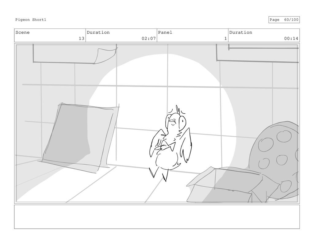 Scene 13 Duration 02:07 Panel 1 Duration 00:14 ...