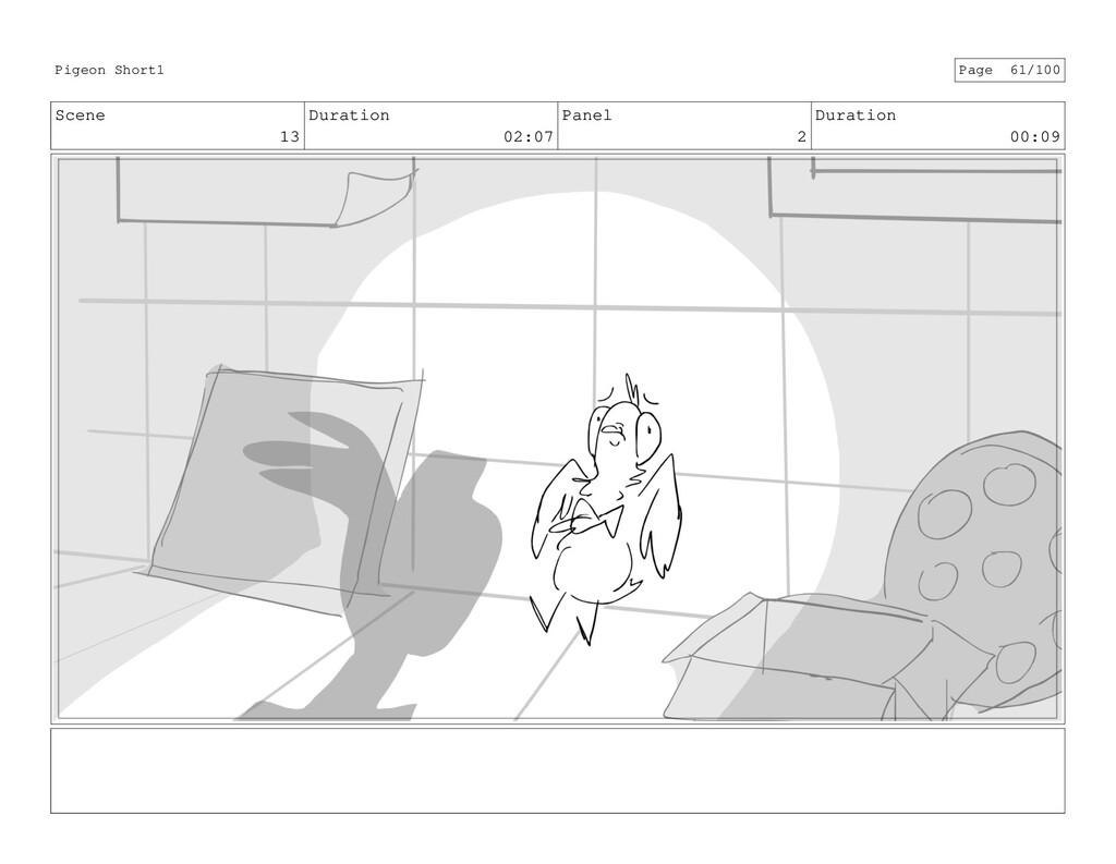 Scene 13 Duration 02:07 Panel 2 Duration 00:09 ...