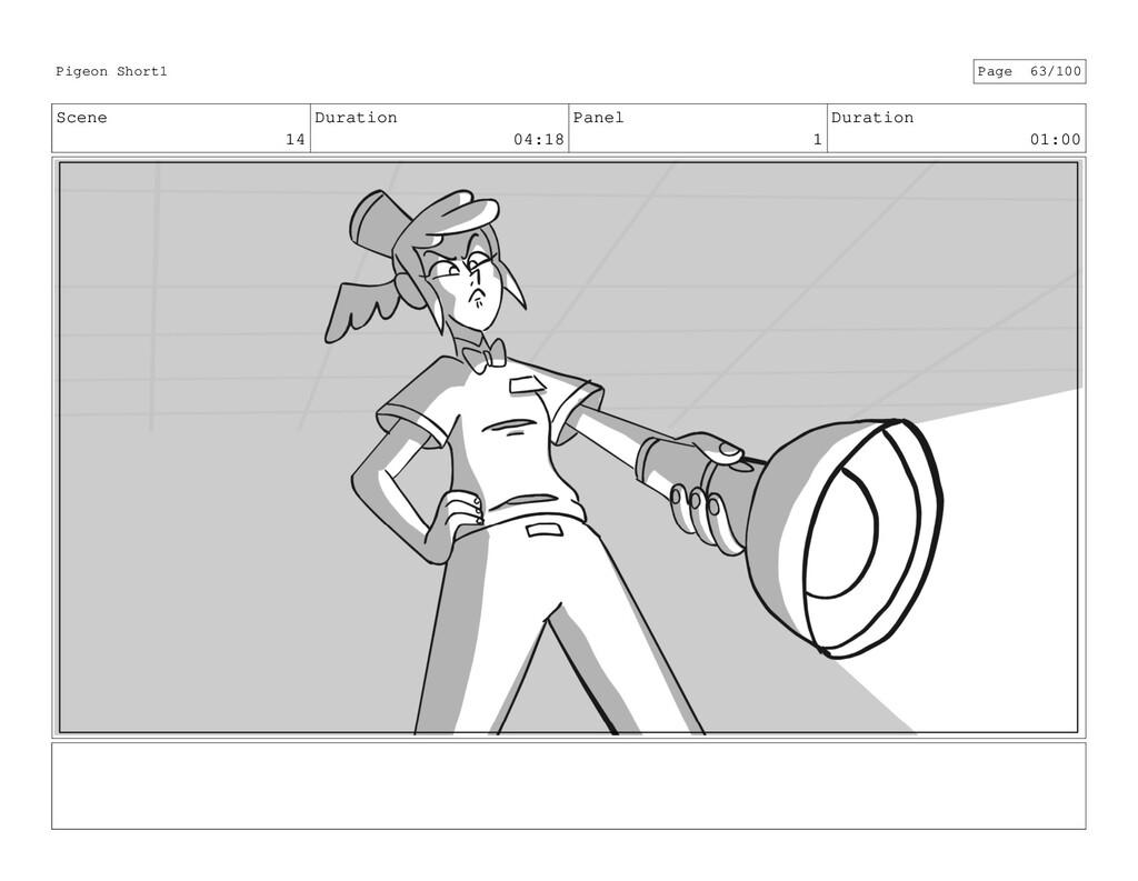 Scene 14 Duration 04:18 Panel 1 Duration 01:00 ...