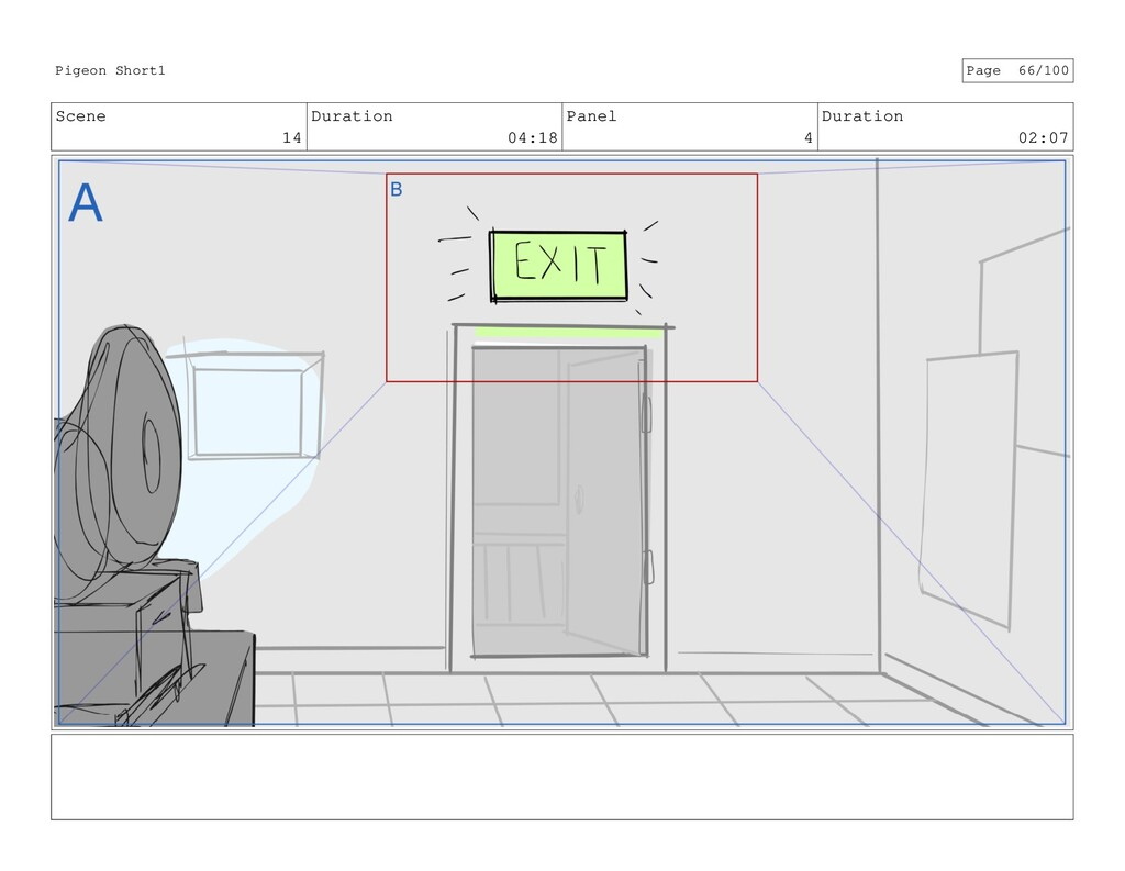 Scene 14 Duration 04:18 Panel 4 Duration 02:07 ...