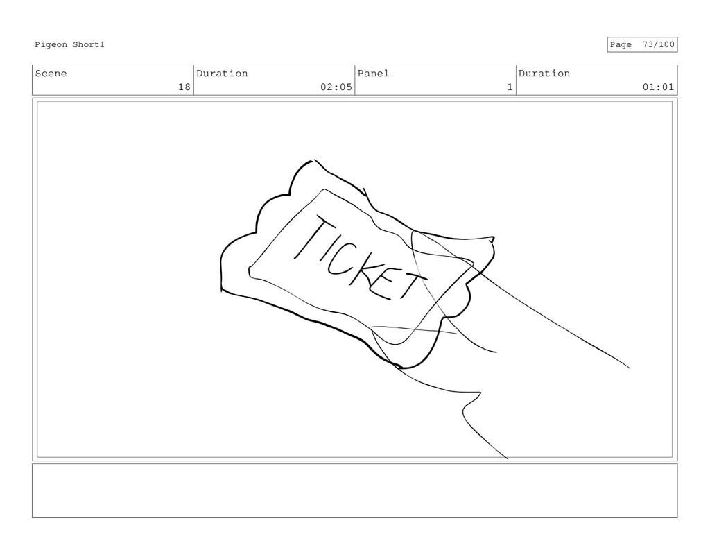Scene 18 Duration 02:05 Panel 1 Duration 01:01 ...