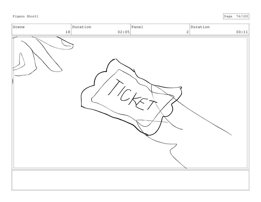 Scene 18 Duration 02:05 Panel 2 Duration 00:11 ...