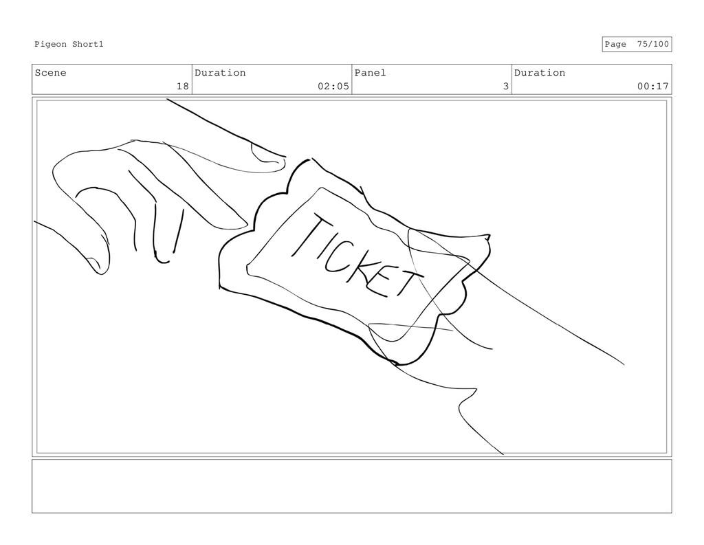 Scene 18 Duration 02:05 Panel 3 Duration 00:17 ...