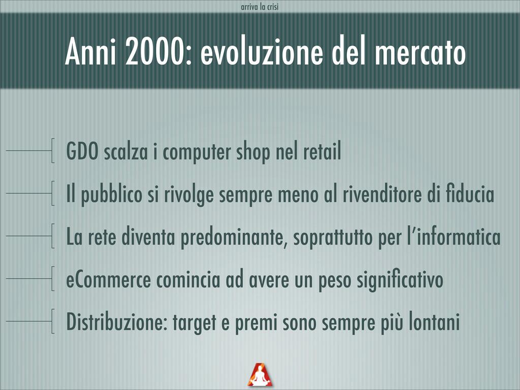 Anni 2000: evoluzione del mercato GDO scalza i ...