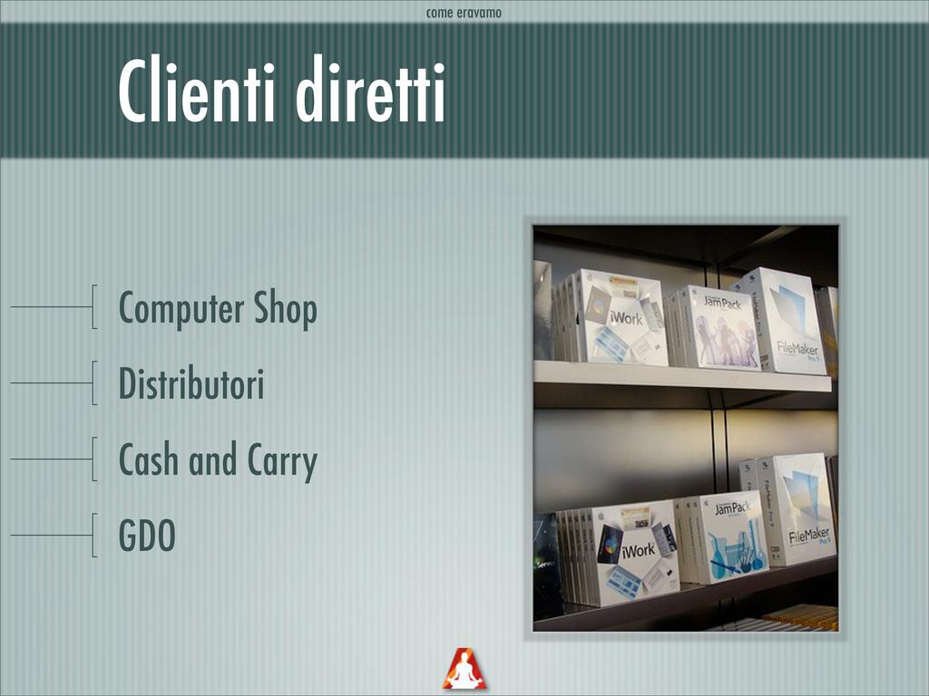 Clienti diretti Computer Shop Distributori Cash...