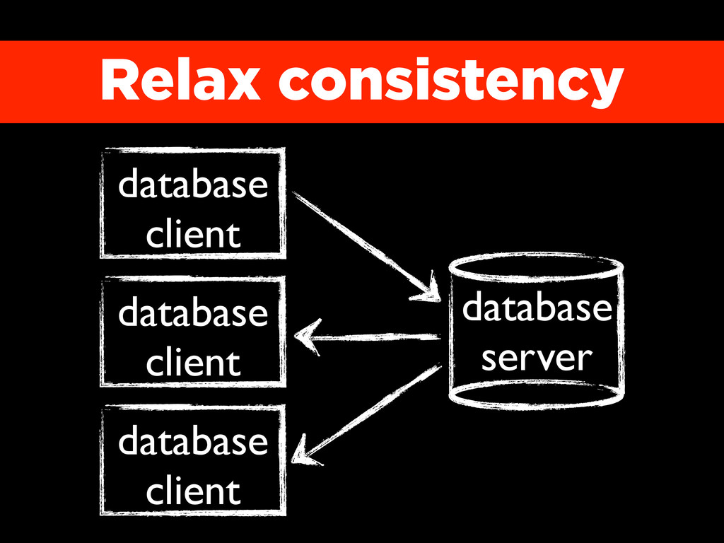 Relax consistency database server database clie...