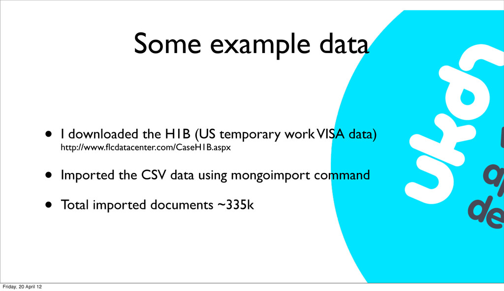 Some example data • I downloaded the H1B (US te...