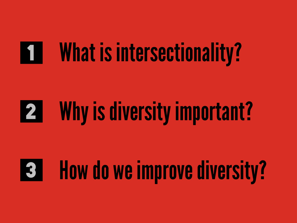 What is intersectionality? Why is diversity imp...