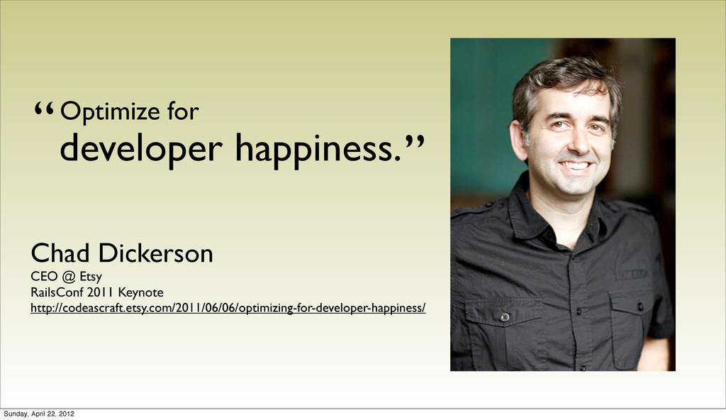 Chad Dickerson CEO @ Etsy RailsConf 2011 Keynot...