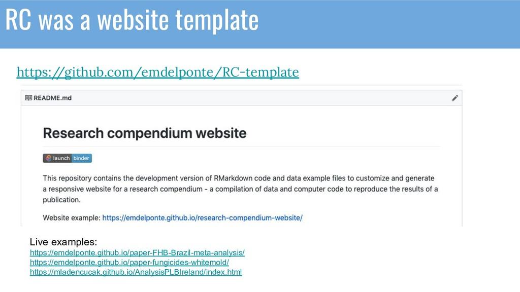 https:/ /github.com/emdelponte/RC-template RC w...