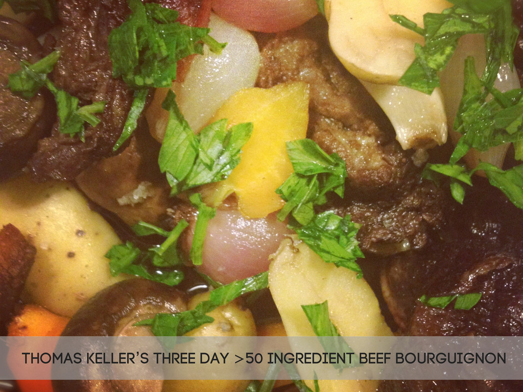 Thomas Keller's three day >50 ingredient beef b...