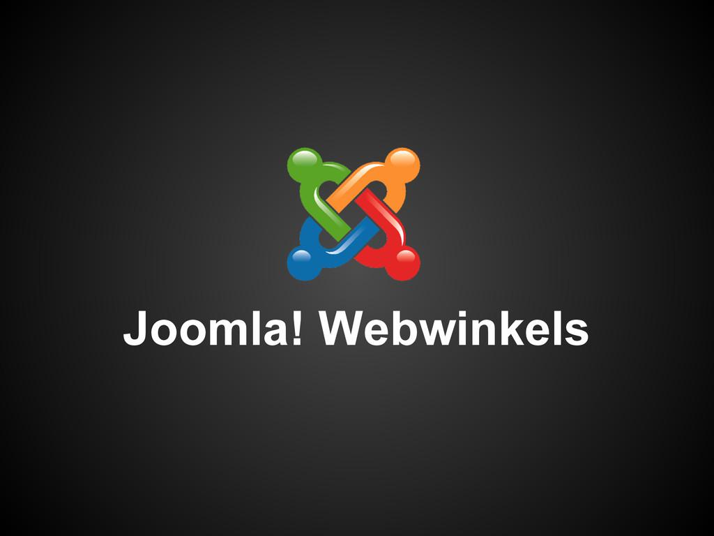 Joomla! Webwinkels