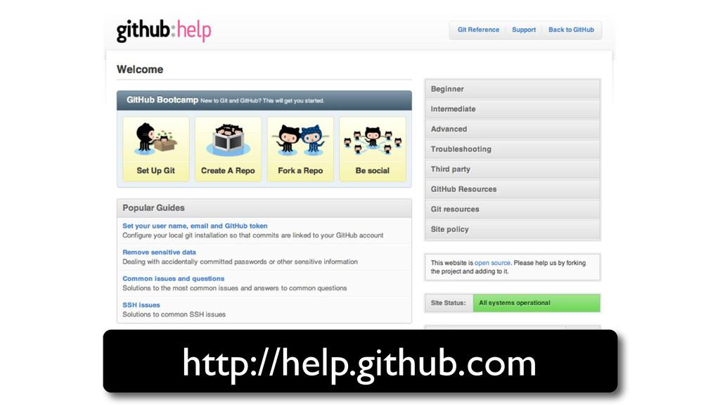 http://help.github.com