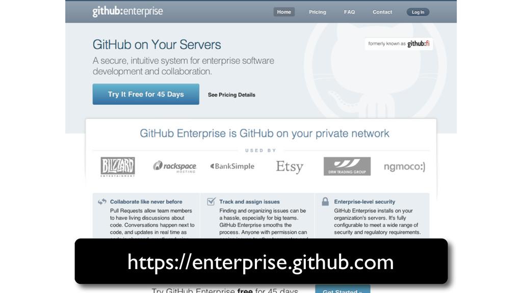 https://enterprise.github.com