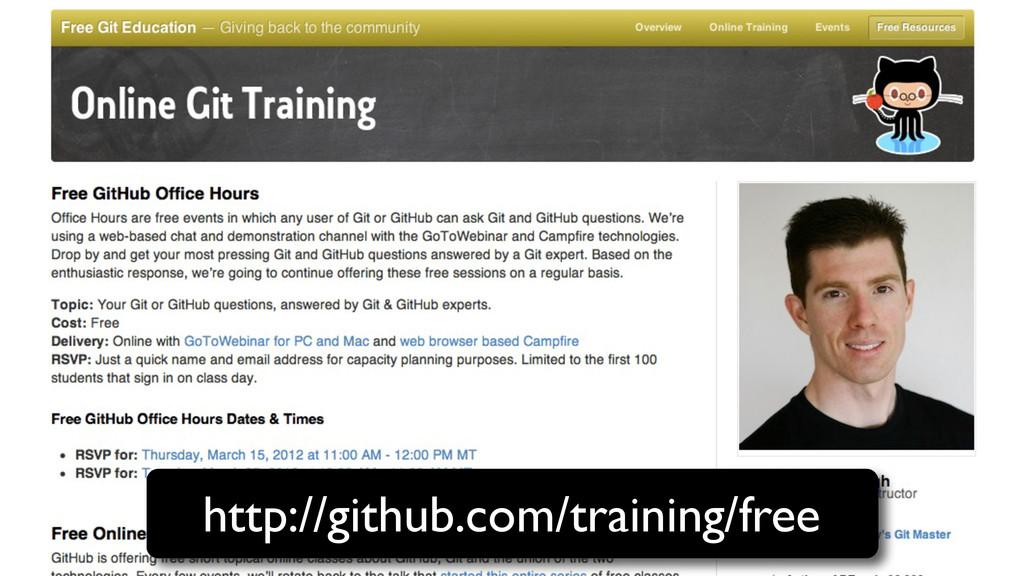 http://github.com/training/free