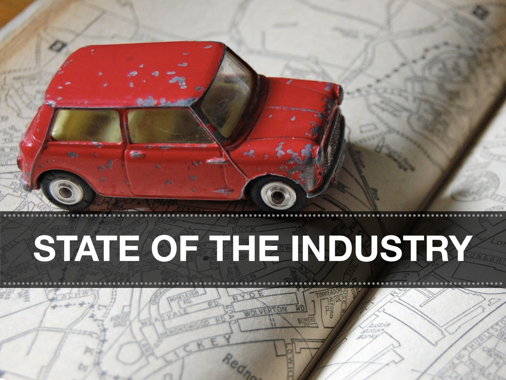 STATE OF THE INDUSTRY ............................