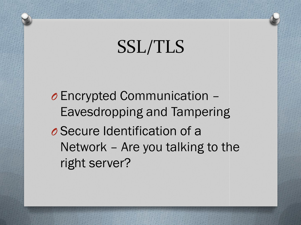 SSL/TLS O Encrypted Communication – Eavesdroppi...