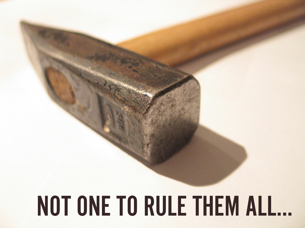 NOT ONE TO RULE THEM ALL…