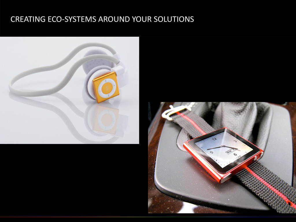 CREATING ECO-‐SYSTEMS AROUND YOUR ...