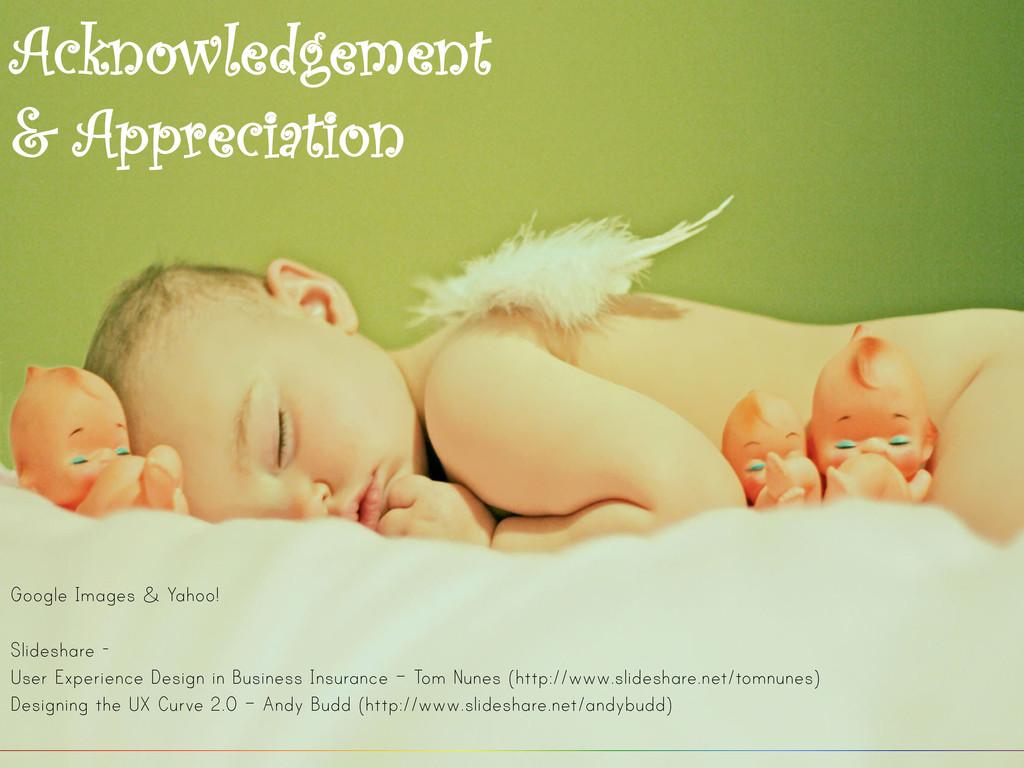 Acknowledgement & Appreciation Google Images & ...