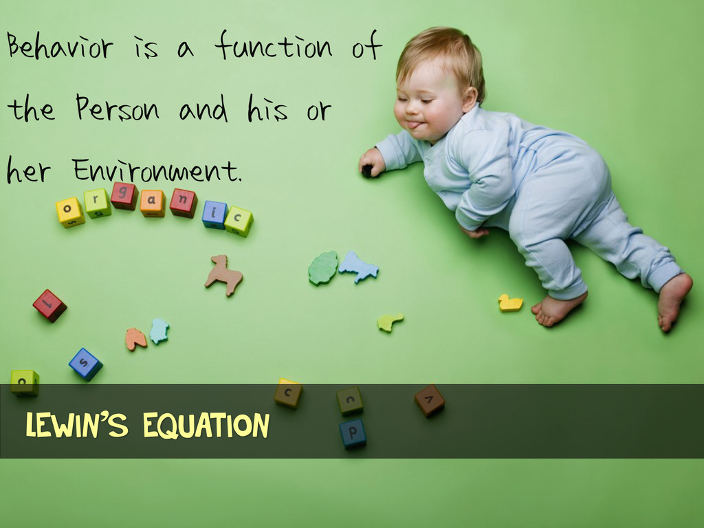Behavior is a function of the Person and his or...