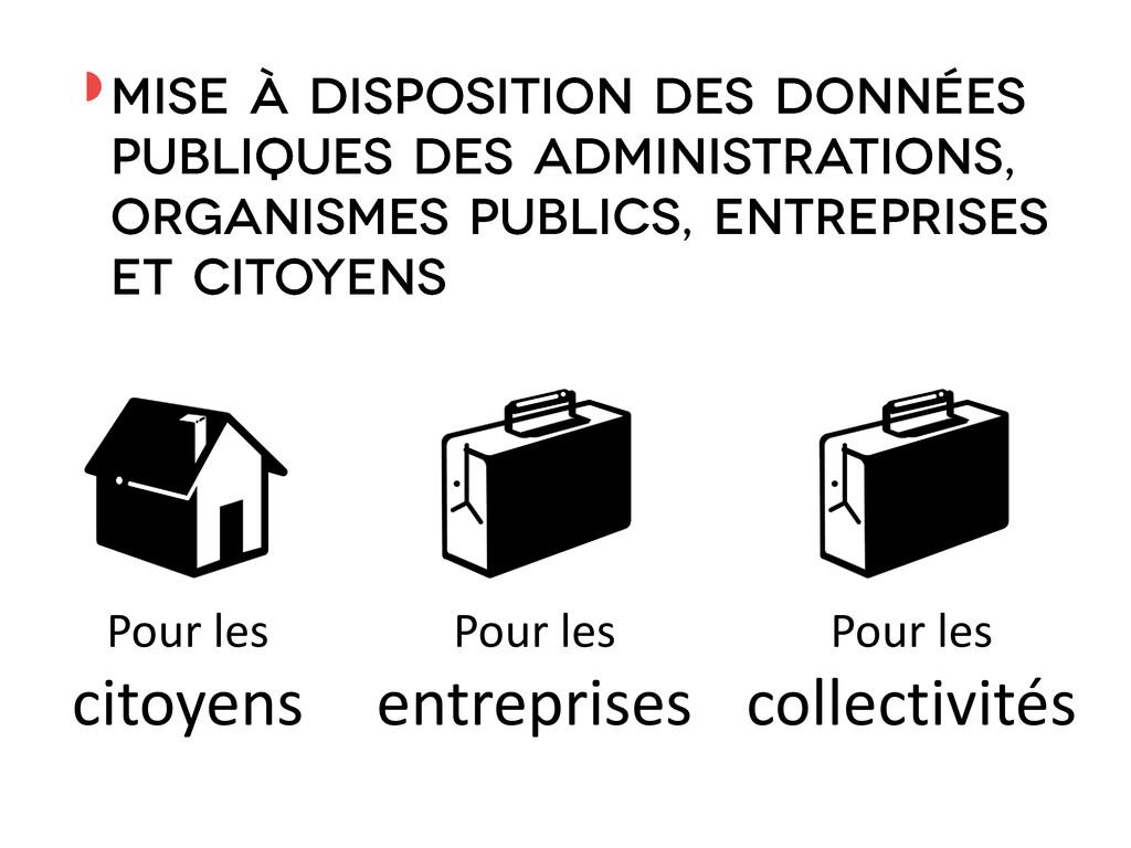 ◗ Pour les citoyens Pour les entreprises Pour l...