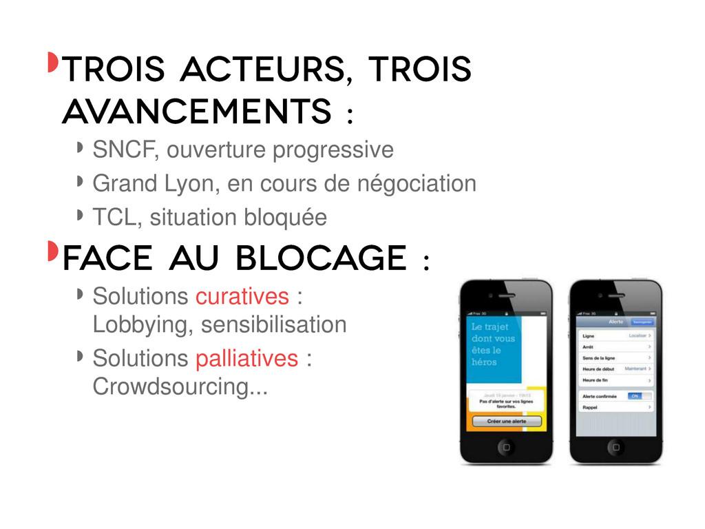 ◗ ◗ SNCF, ouverture progressive ◗ Grand Lyon, e...