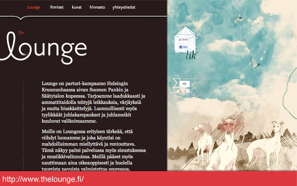 http://www.thelounge.fi/!