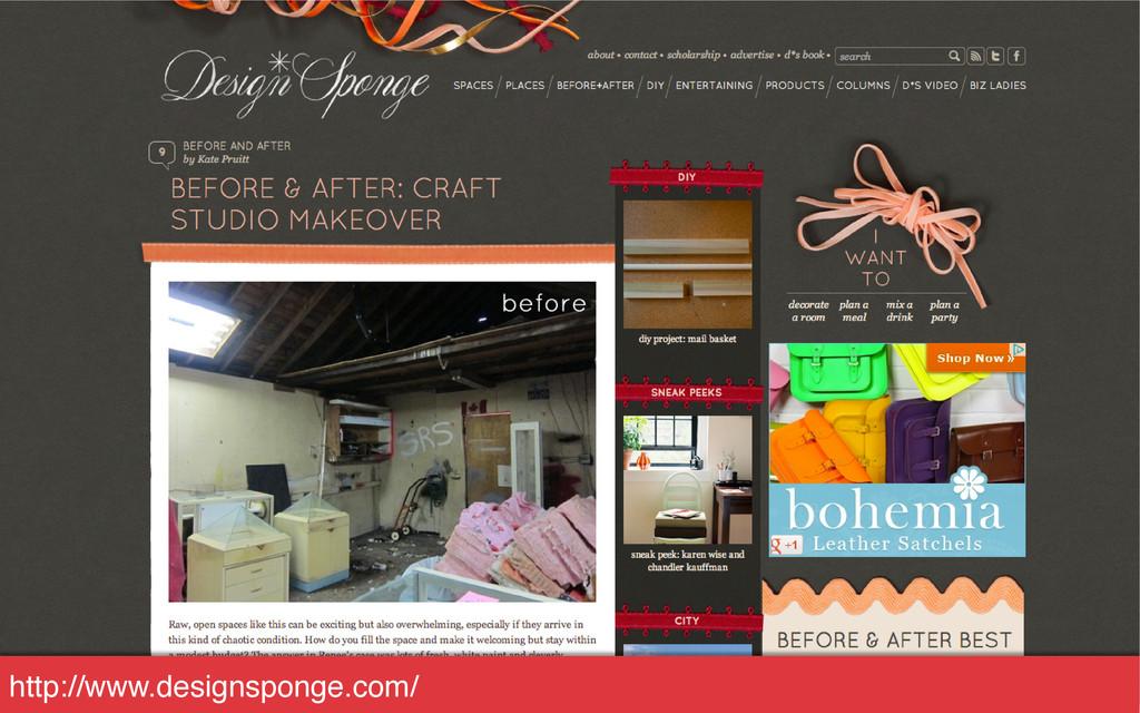 http://www.designsponge.com/!