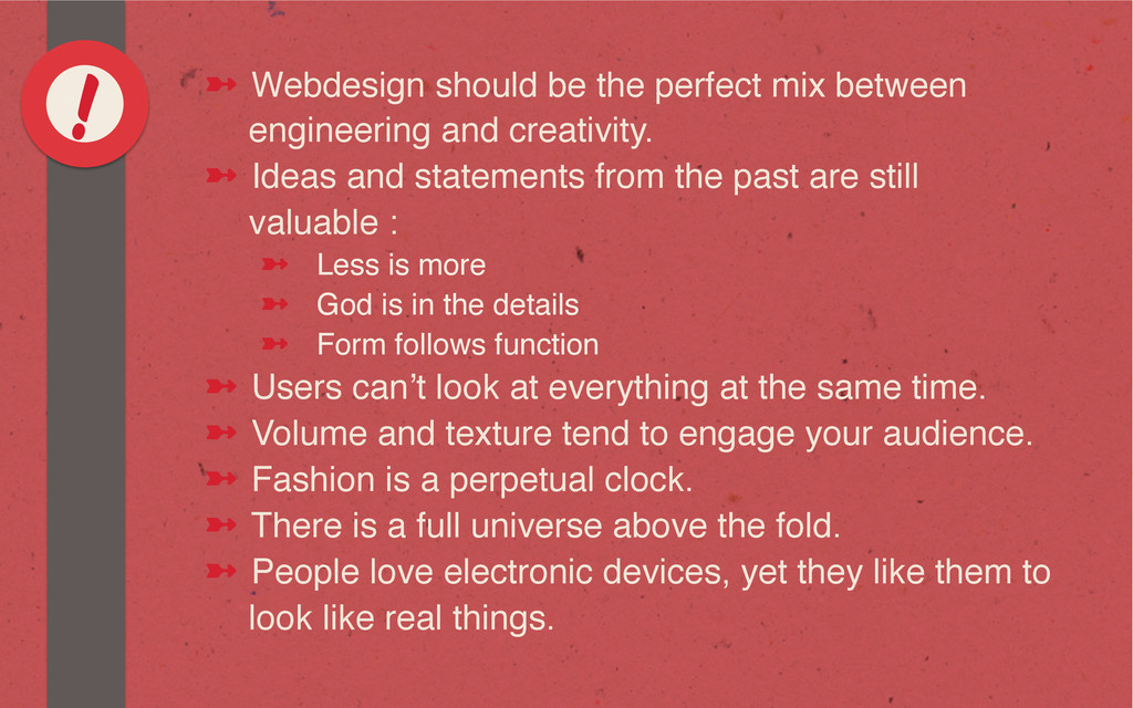 ! ➼ Webdesign should be the perfect mix betwe...