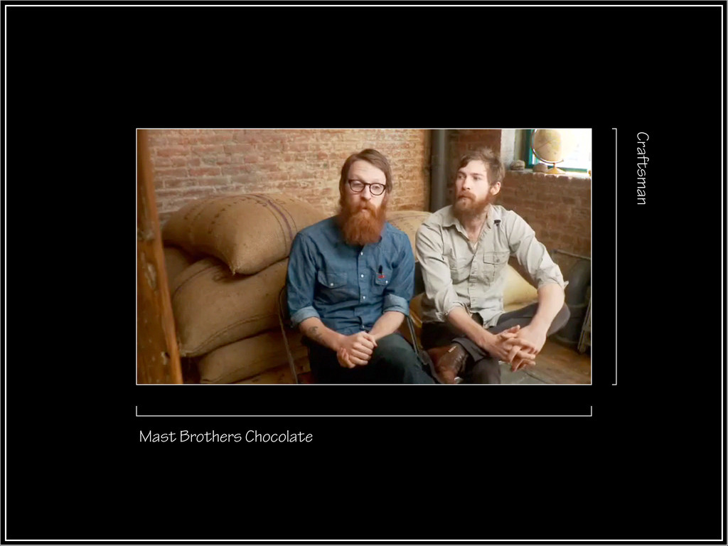 Mast Brothers Chocolate Craftsman